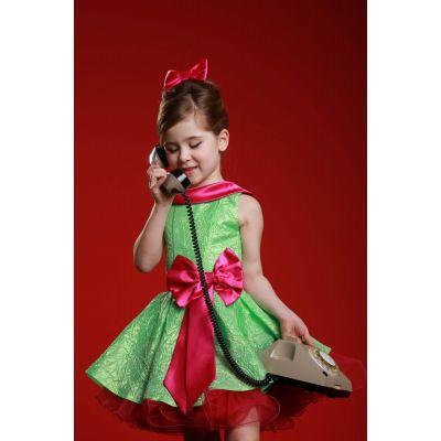 Нарядное платье для девочки Стиляги - 028