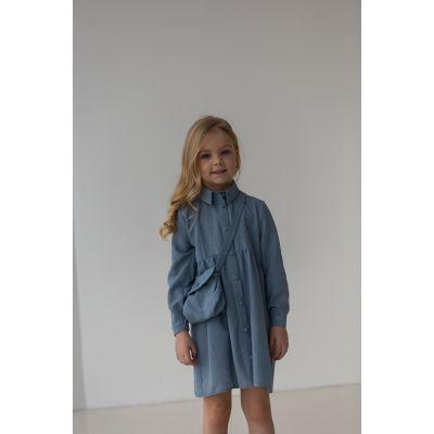 Платье с сумочкой Нандина джинс