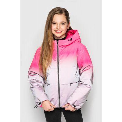 Куртка светоотражающая демисезонная Колибри ультра малиновая
