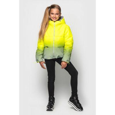 Куртка светоотражающая демисезонная Колибри ультра желтая
