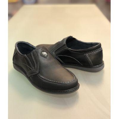 Туфли макасины МП30 черные ТМ Men's Style