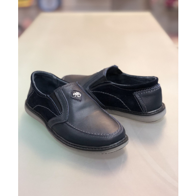 Туфли мокасины МП30 синие ТМ Men's Style
