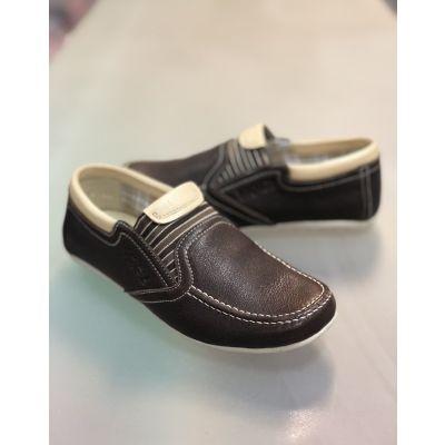 Туфли коричневые 100-261