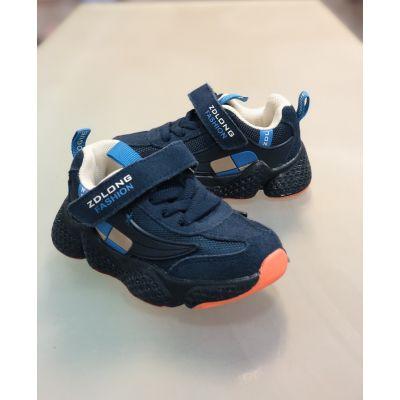 Кроссовки 19970-11 светящиеся синие