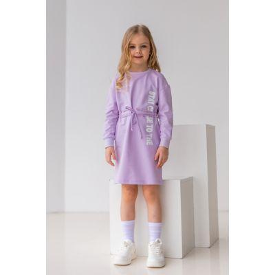 Платье Абрея 6895 лавандовое