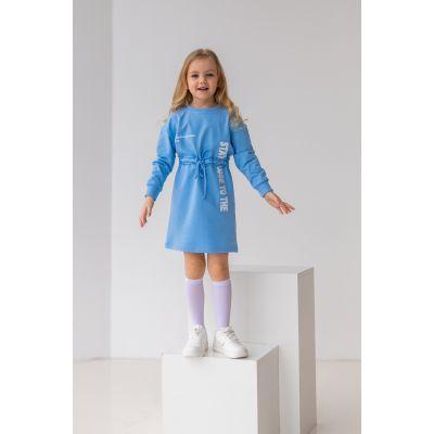 Платье Абрея 6894 голубая