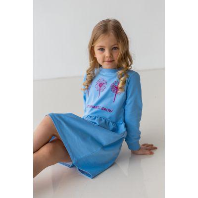 Платье Ботанта 6848 голубое