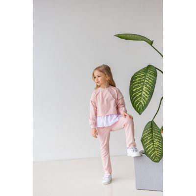 Спортивный костюм Кемария 6898 бледно розовый