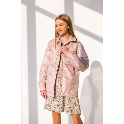 Сорочка-куртка Эланд 6877 светлая пудра