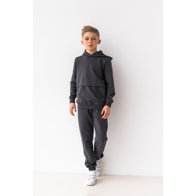 Спортивный костюм Рэйл 6873 темный графит
