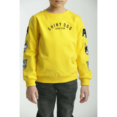Реглан желтый 31421