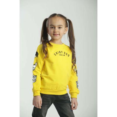 Реглан желтый 31421 девочка