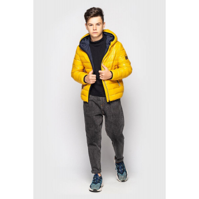 Куртка Доминик желтая
