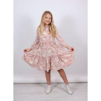 Платье 1369 Мари пудра