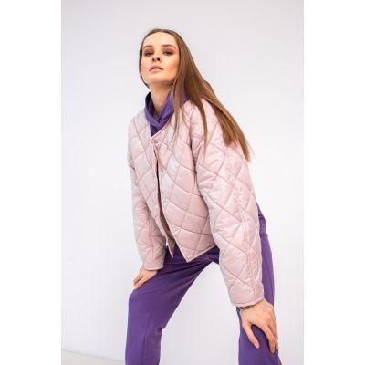 Куртка Милея 6933 светлая пудра