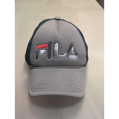 Блайзер кепка сетка №85 Fila 2 серый
