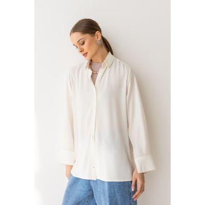 Блуза Бэлэя  6516 молочная