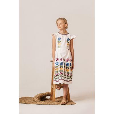 Платье вышиванка Чичка Яркая