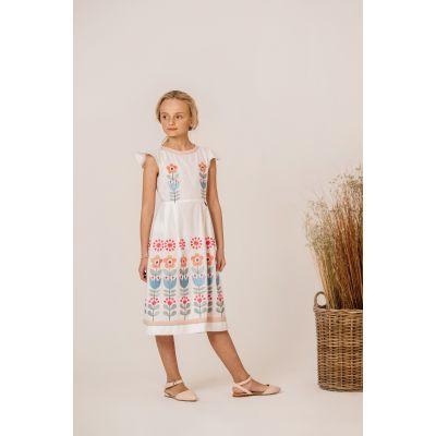 Платье вышиванка Чичка Нежная