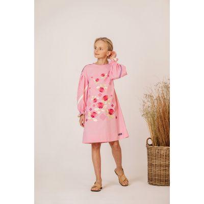 Платье вышиванка Роза