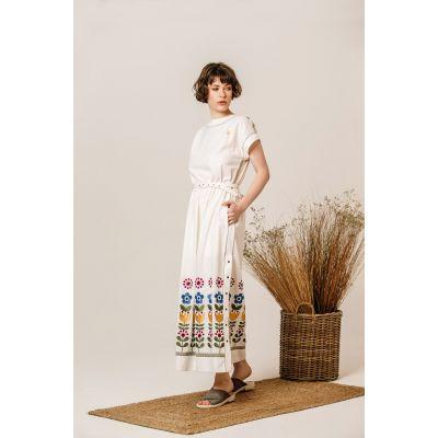 Платье Вышиванка Чичка Яркая В