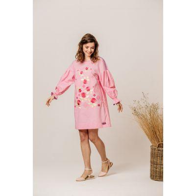Платье вышиванка Роза В