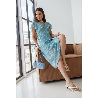 Платье Тамелия 7044 фисташка