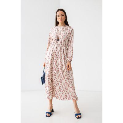 Платье Фрэнэзия 7178 кремовое