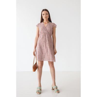 Платье Нирутти 7093 пудра