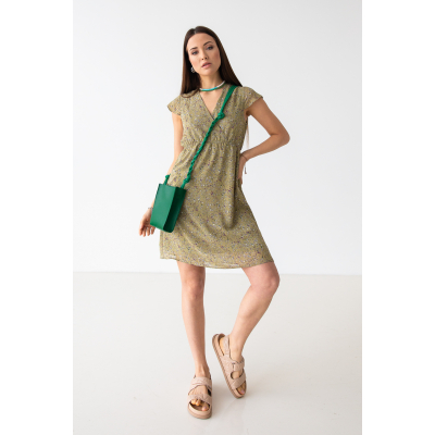Платье Нирутти 7092 оливковое