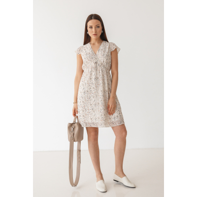 Платье Нирутти 7094 ванильное
