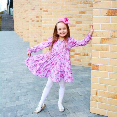 Платье Лиана Анна лиловое