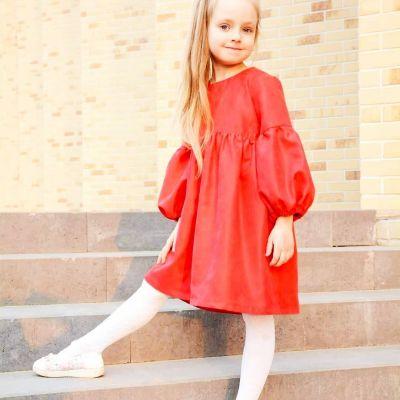 Платье Родена Анна красное