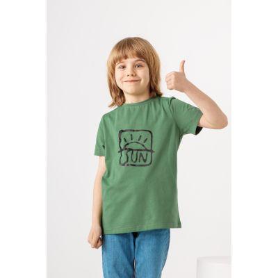 Футболка Нотей 7264 зеленая