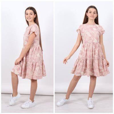 Платье 1407 бежевое