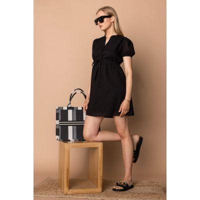 Платье Алькирия 7381 черное