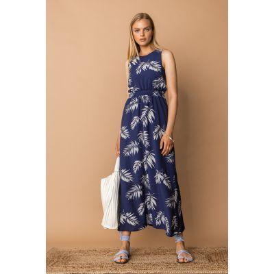 Платье Делбор 7342 синее