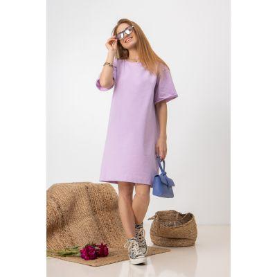 Платье Шайна 7580 сиреневое