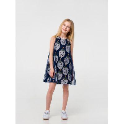 Платье 120318/120319 серое