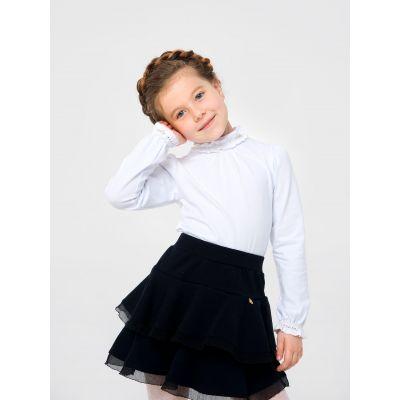 Гольф блуза для девочки 114762 белый