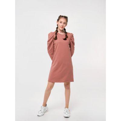 Платье 120304/120328 темная карамель