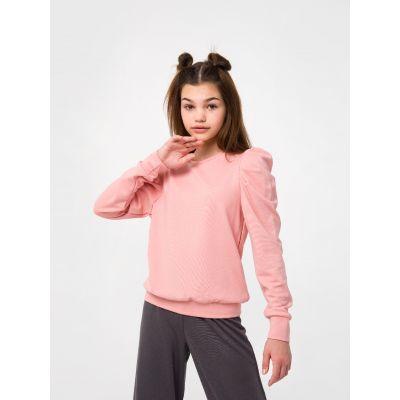 Свитшот 116505/116506 розовая карамель