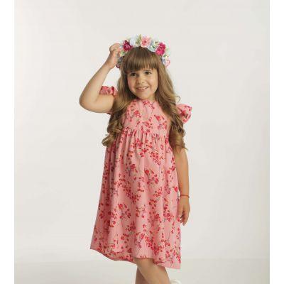 Платье 975201 розовое