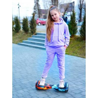 Спортивный костюм Анабель Анна велюр лиловый