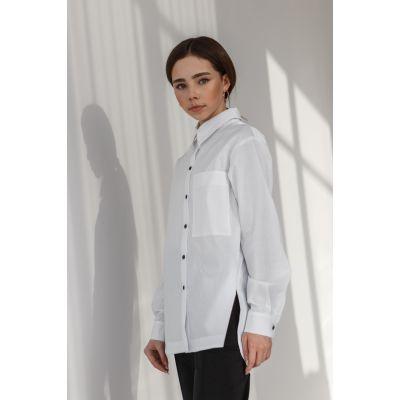 Рубашка Джоржет белая