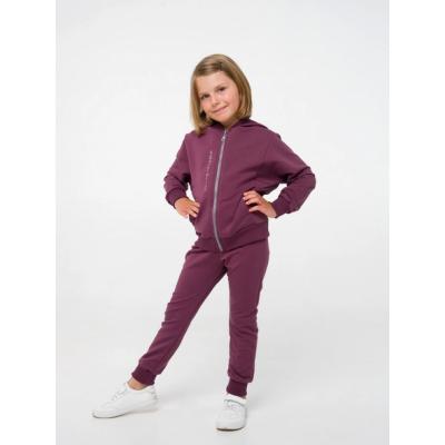Спортивный костюм (куртка+брюки) 117284/117285 бордовый