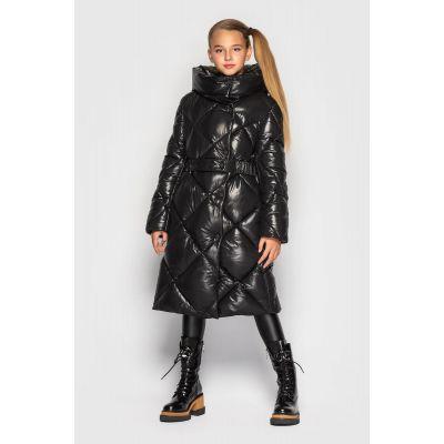 Куртка пальто Эвелина черное