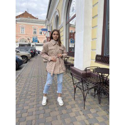 Куртка стеганая 392 В ЦВЕТЕ - МЯТА!!!