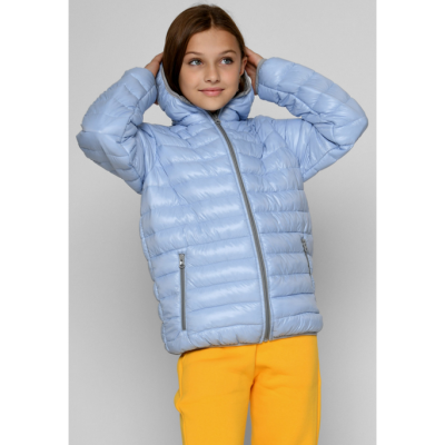 Куртка DT-8340-11 голубая