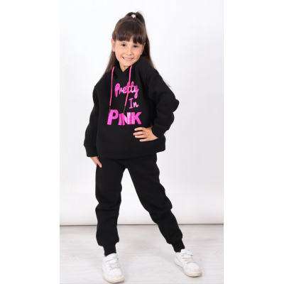 Спортивный костюм байка PINK 1470 черный